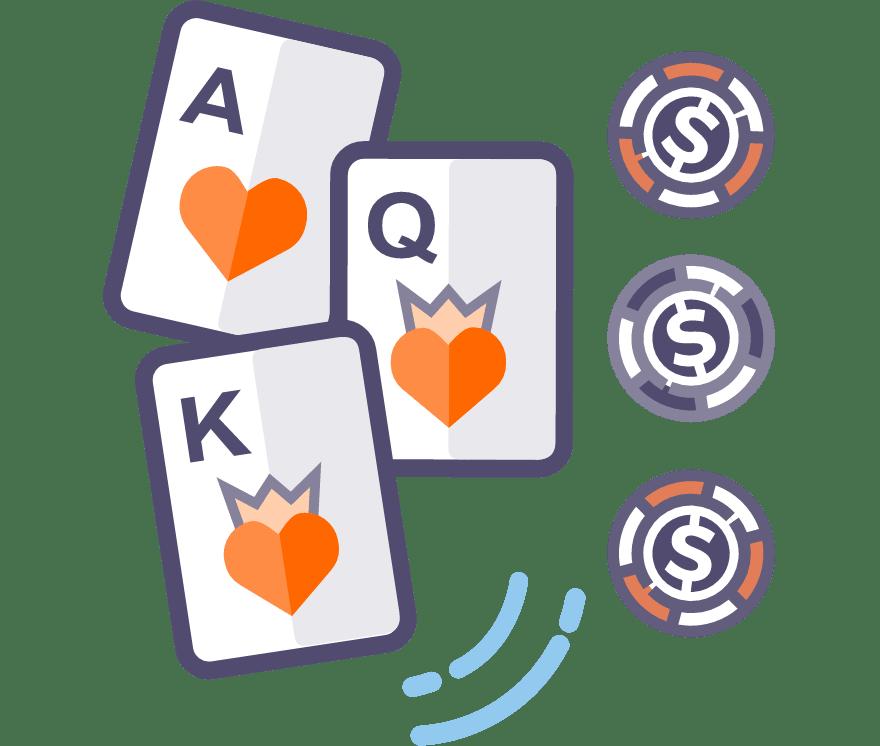 55 Beste Three Card Poker Online Casinos im Jahr 2021